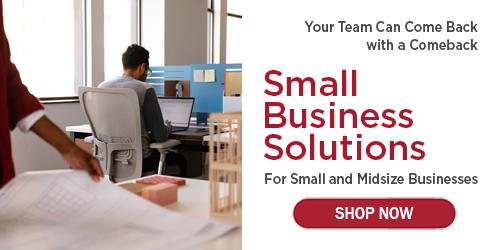 Small Business Solutions Wittigs Office Interiors Work from Anywhere Work from Home Return to Work Small and Midsize Business Solutions